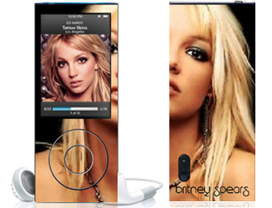 Britney Spears  Mp4 Mp3 Player 5th Generation Nano